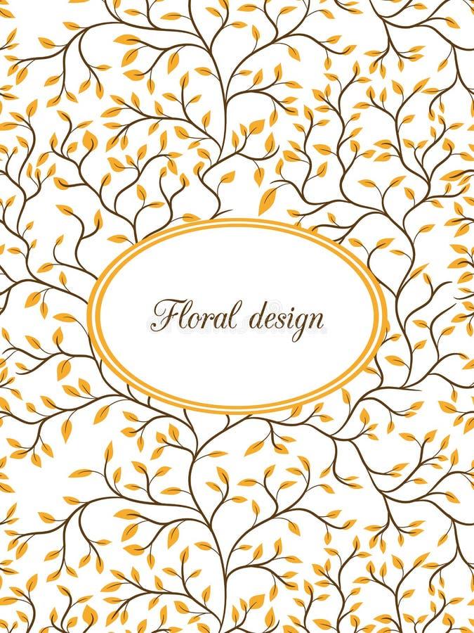 Download иллюстрация конструкции карточки флористическая ваша Иллюстрация вектора - иллюстрации насчитывающей цветок, самомоднейше: 41661185