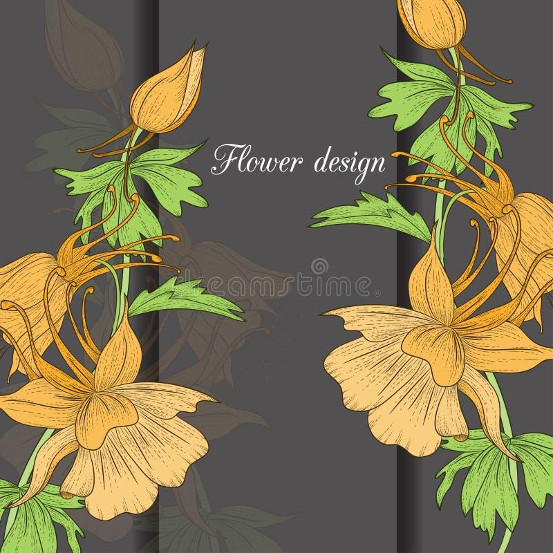 Download иллюстрация конструкции карточки флористическая ваша Иллюстрация штока - иллюстрации насчитывающей влюбленность, естественно: 41661379