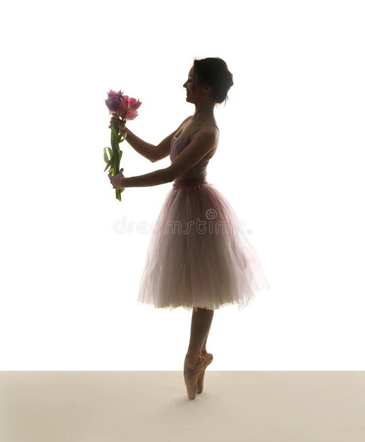 иллюстрация конструкции танцора балета красивейшая стоковое фото rf