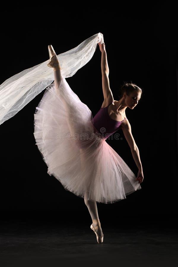 иллюстрация конструкции танцора балета красивейшая стоковые изображения