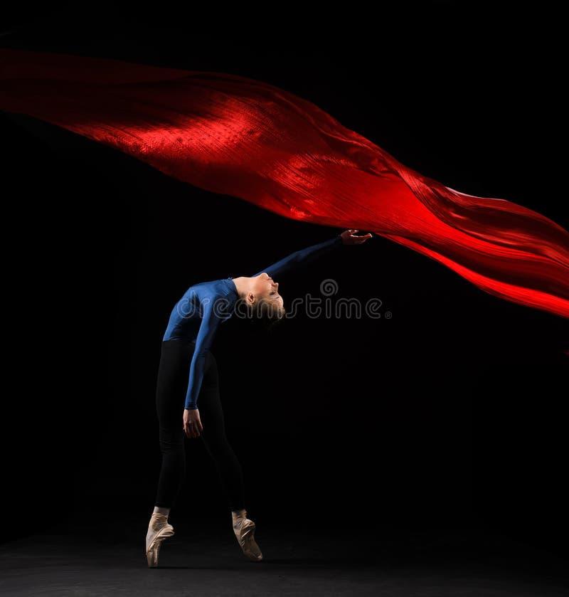 иллюстрация конструкции танцора балета красивейшая стоковые изображения rf