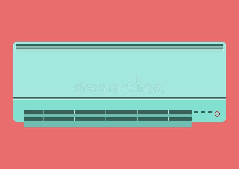 Иллюстрация кондиционера воздуха иллюстрация вектора