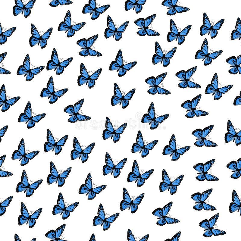 Иллюстрация красочной бабочки бесплатная иллюстрация