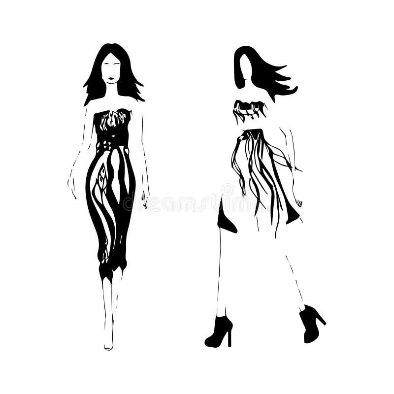 Иллюстрация моды стоковая фотография