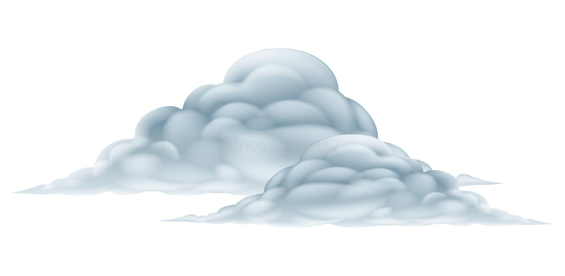 Иллюстрация облака бесплатная иллюстрация