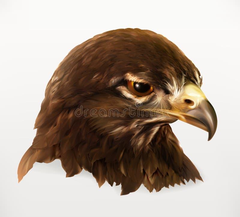 Иллюстрация орла головная бесплатная иллюстрация