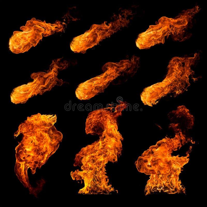иллюстрация пожара конструкции установила вашим стоковое изображение