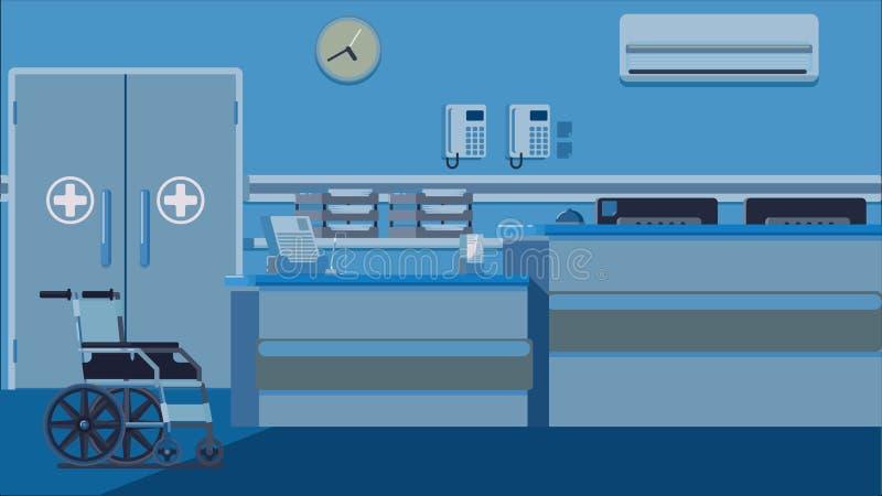 Иллюстрация приема больницы бесплатная иллюстрация