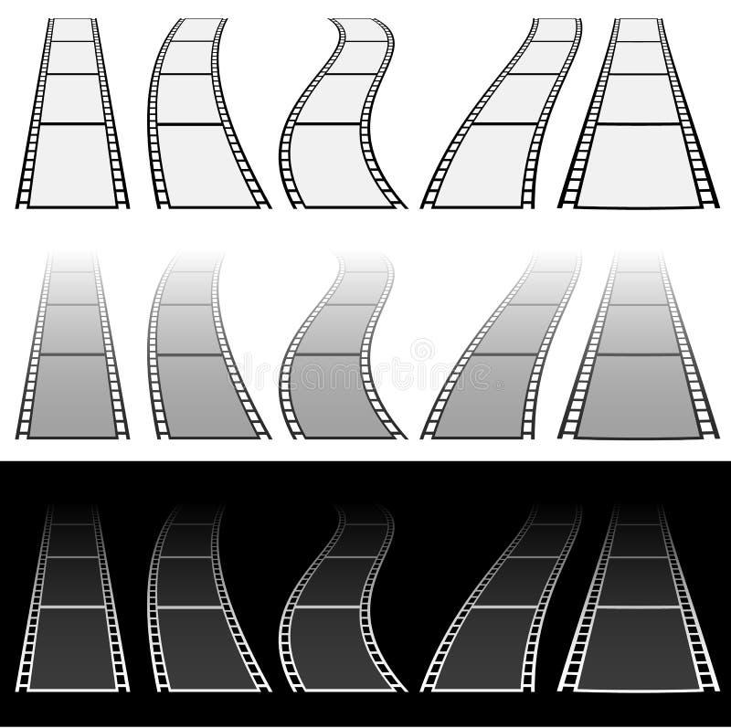 Download Иллюстрация прокладки фильма для концепций фотографии Комплект несколько Иллюстрация вектора - иллюстрации насчитывающей элемент, пефорировано: 81806195