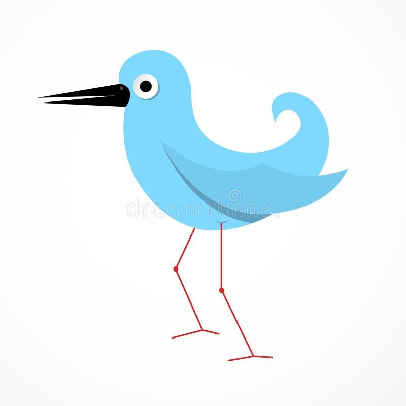 Иллюстрация птицы вектора бумажная бесплатная иллюстрация