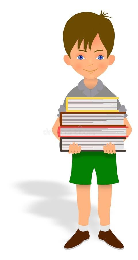 Книги нося ребенка бесплатная иллюстрация