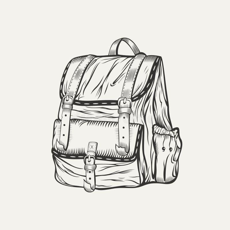 Иллюстрация рюкзака бесплатная иллюстрация