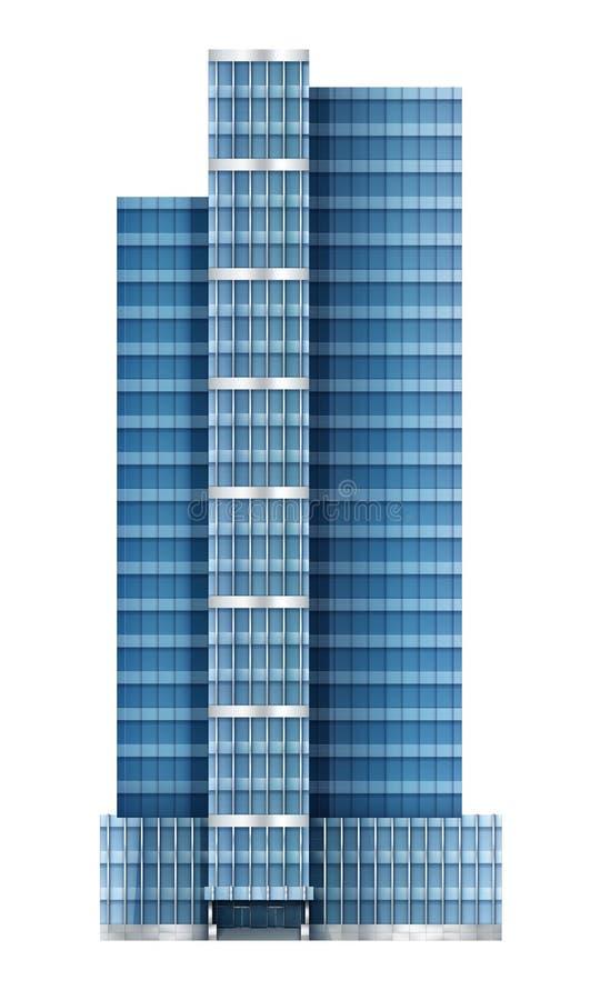 Иллюстрация современного здания бесплатная иллюстрация