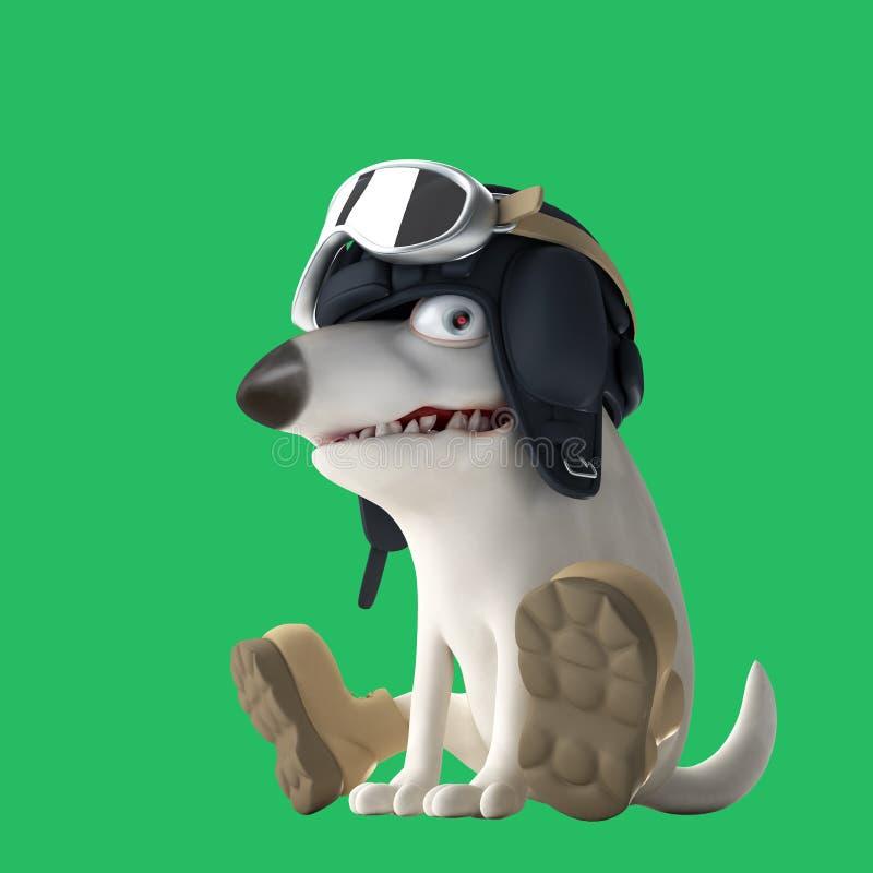 Иллюстрация топливозаправщика 3d собаки иллюстрация штока