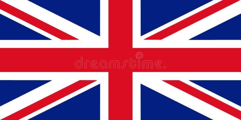 Иллюстрация флага 3D Великобритании бесплатная иллюстрация