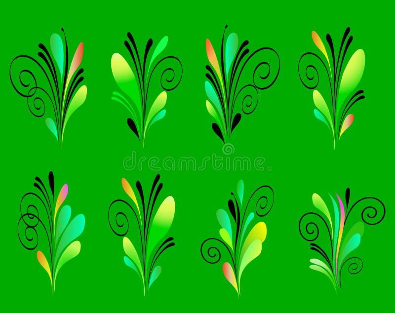иллюстрация элементов конструкции выходит вектор иллюстрация штока