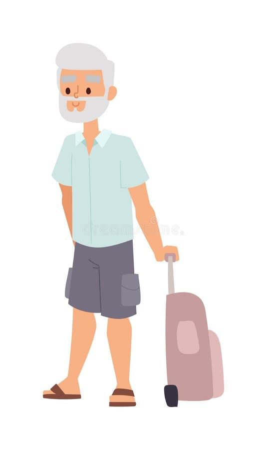 Иллюстрация людей старика лета бесплатная иллюстрация