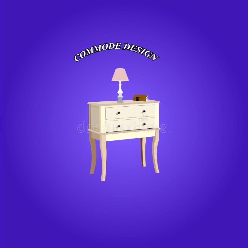 Иллюстрация Commode иллюстрация штока