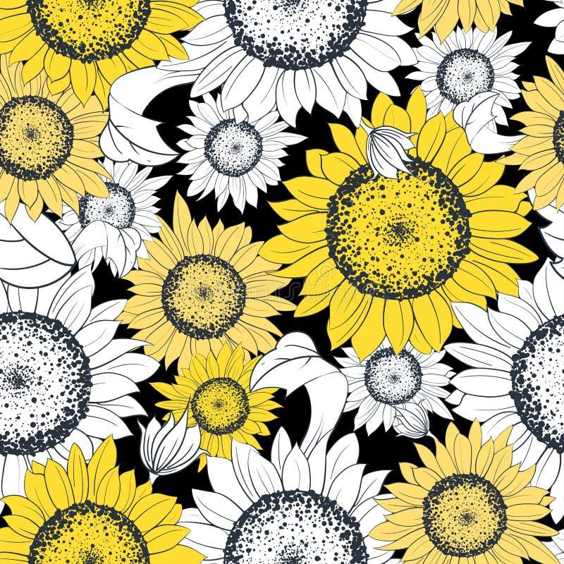 иллюстрация eps 10 элементов некоторый используемый транспарант солнцецвета иллюстрация вектора