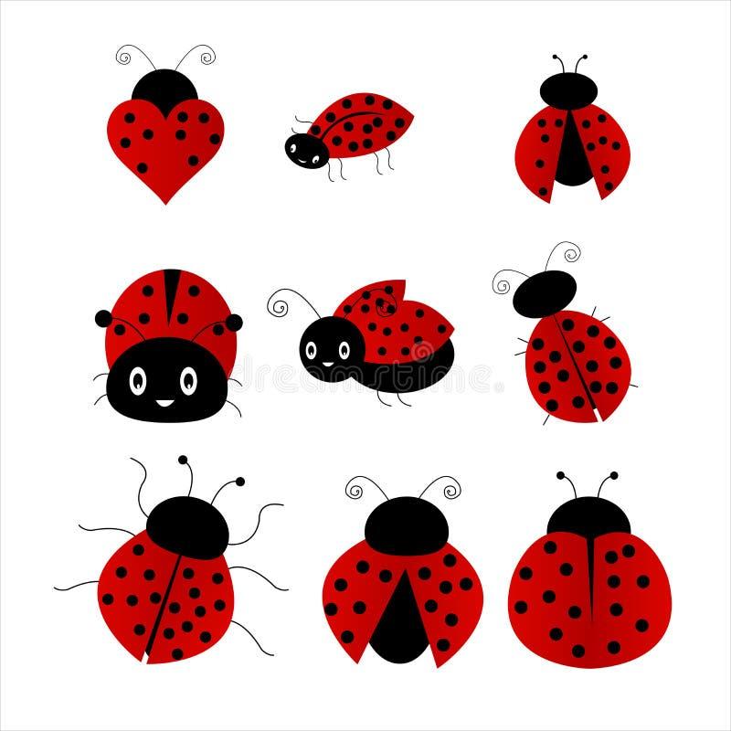 Ladybug иллюстрация штока