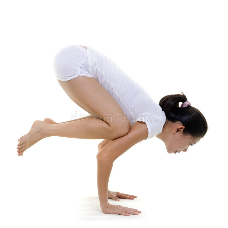 йога позиции стоковое фото rf