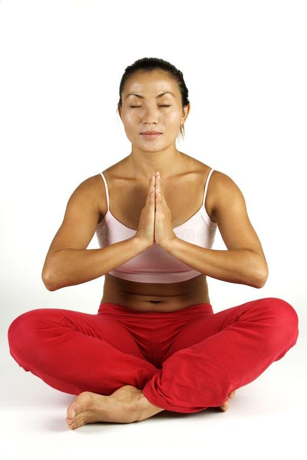 йога представления стоковые фотографии rf