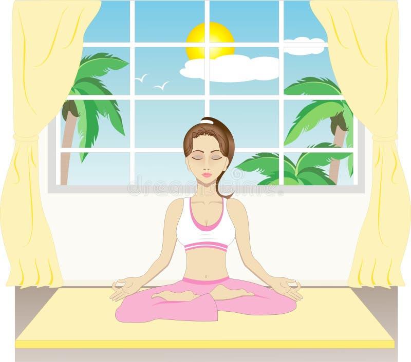 йога бесплатная иллюстрация