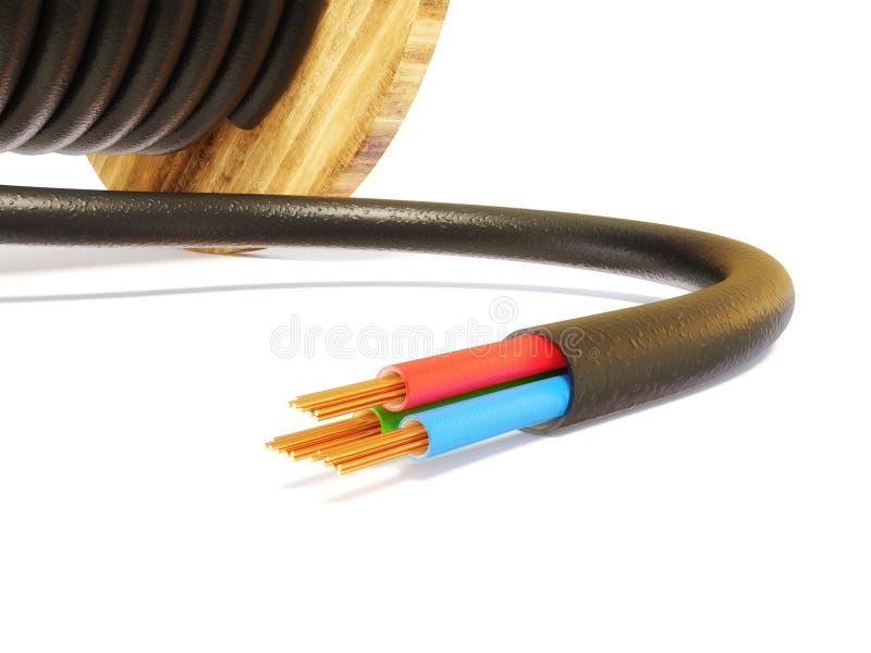 кабель иллюстрация штока