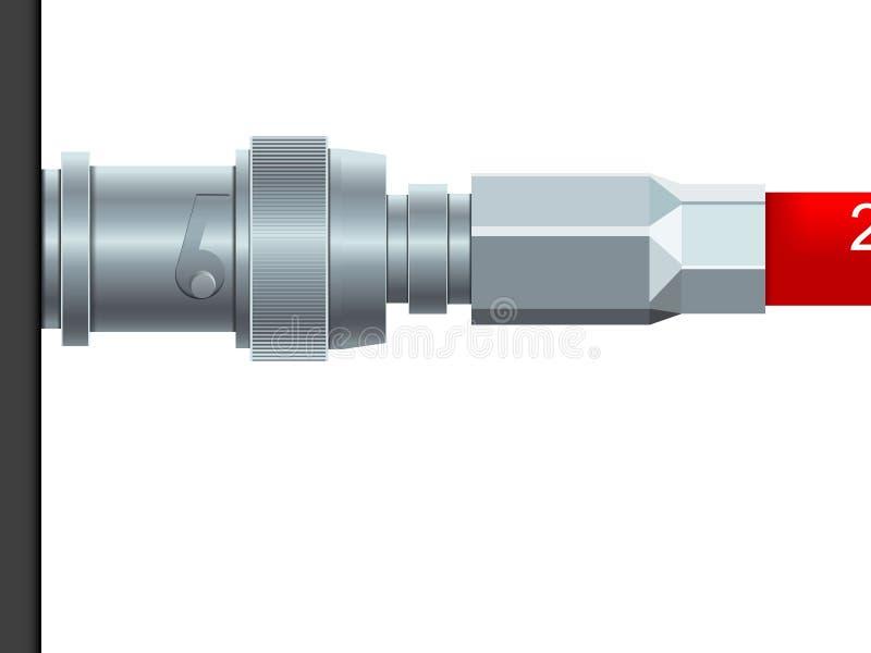 кабель иллюстрация вектора