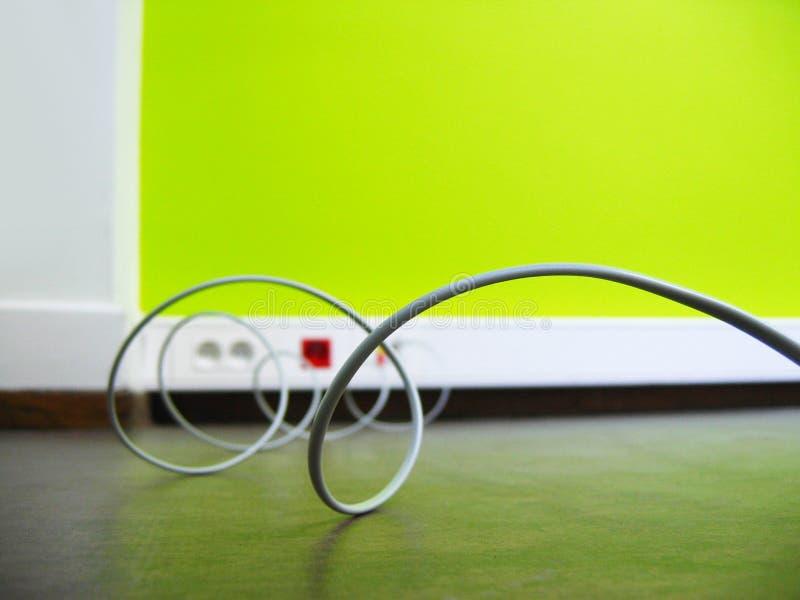 кабель стоковое изображение rf