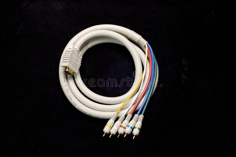кабель hdtv стоковое изображение