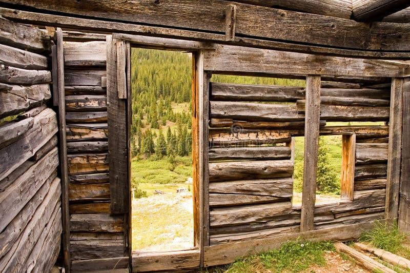 кабина внутри горнорабочей s журнала стоковые фотографии rf