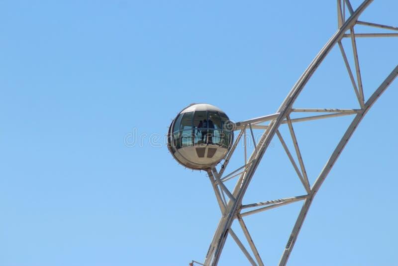 Кабина звезды Мельбурна на летний день стоковая фотография rf