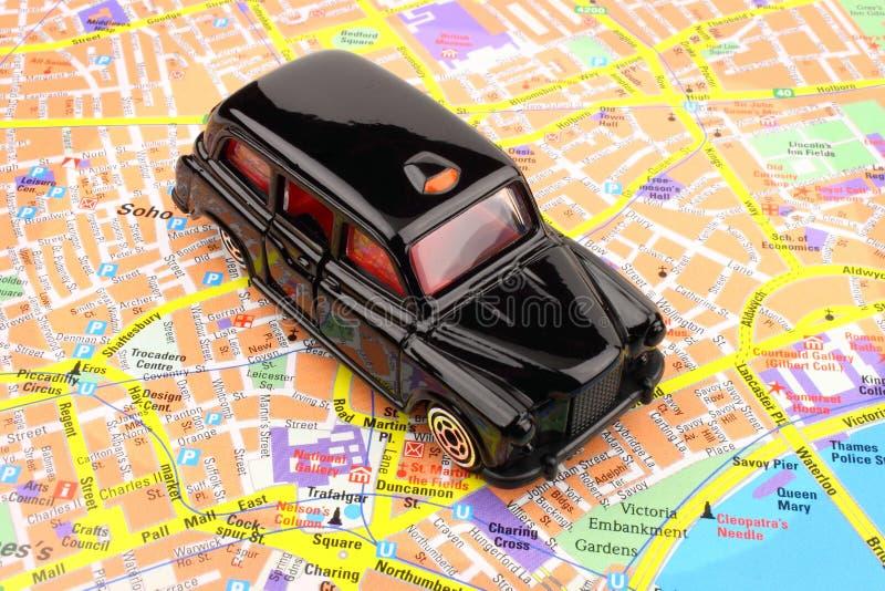 Кабина Лондон черная стоковые изображения rf
