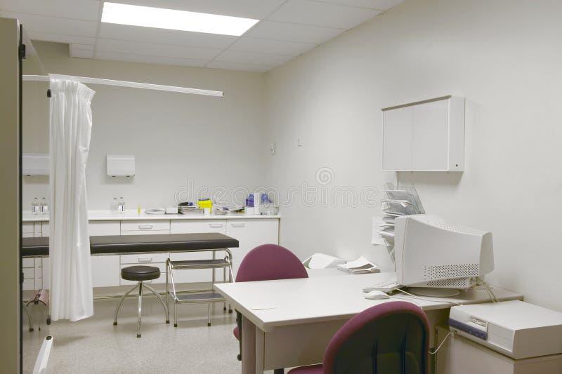 Кабинет врача доктора больницы Оборудование здравоохранения Медицинский t стоковое изображение