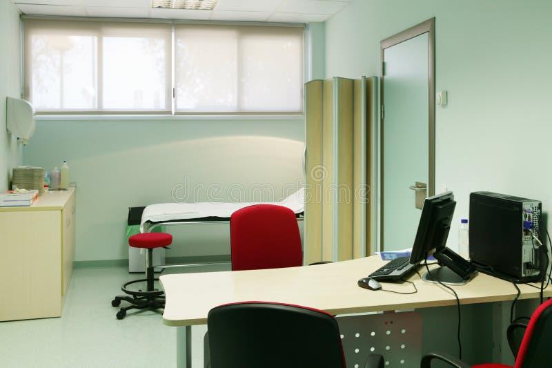 Кабинет врача доктора больницы Оборудование здравоохранения Оборудование медицинского лечения стоковое изображение rf