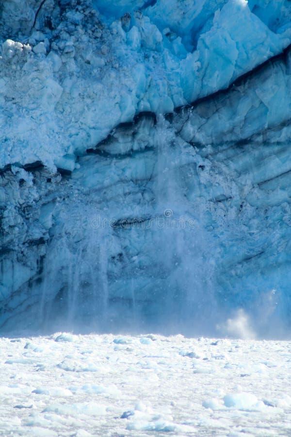 Кавитируя ледник стоковая фотография
