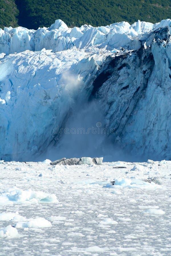 Кавитируя ледник стоковые изображения rf