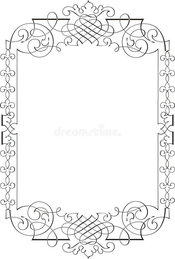 кадр 7 иллюстрация вектора