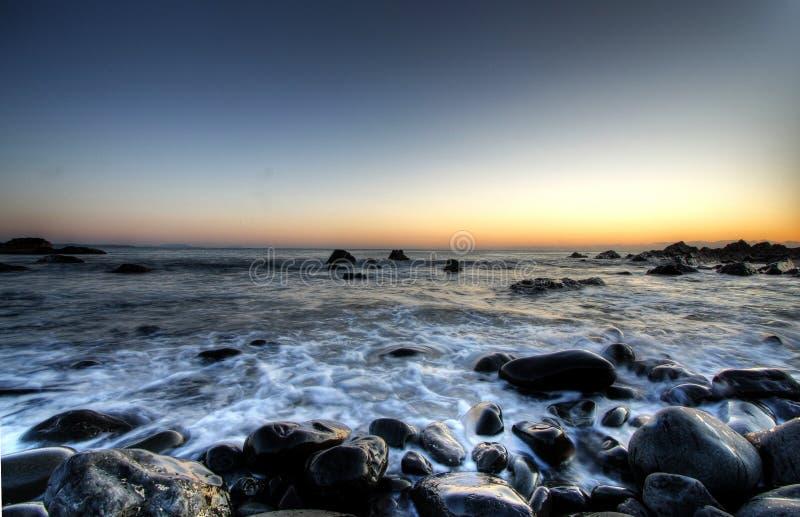 каек пляжа стоковое фото