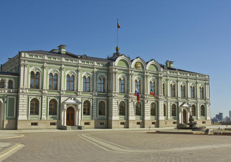 Казань, дворец президента стоковое изображение rf