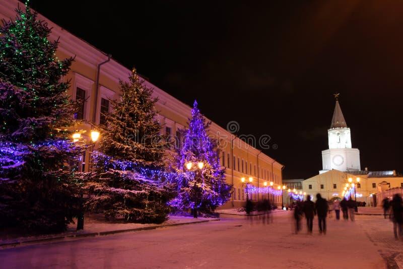 Казань Кремль, памятник русской архитектуры centu XVI стоковая фотография rf