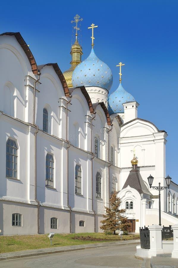 Казань, Кремль, собор Blagoveshchensk стоковое изображение