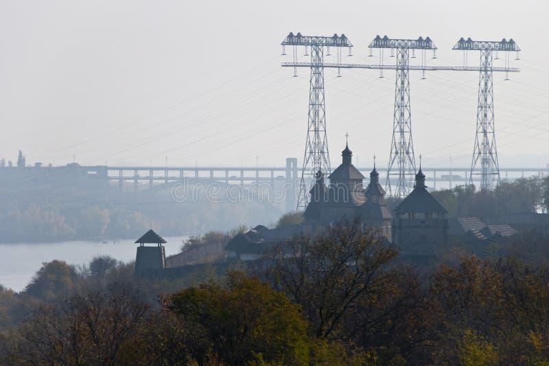 Казацкая крепость стоковые изображения rf