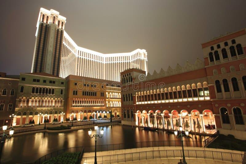 казино Макао venetian стоковые фотографии rf