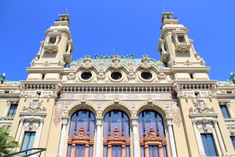 Казино Монте-Карло и опера, Монако стоковая фотография