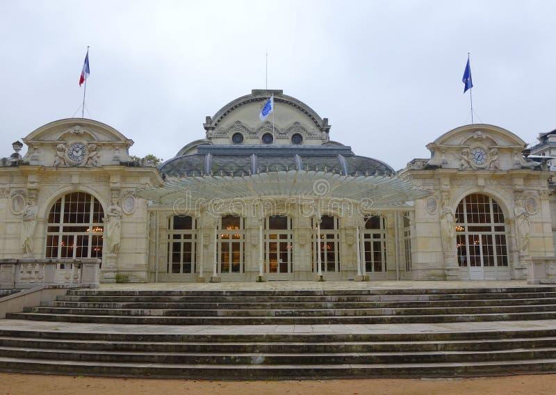 Казино теперь выставочный центр в Vichy, Франции стоковые фото