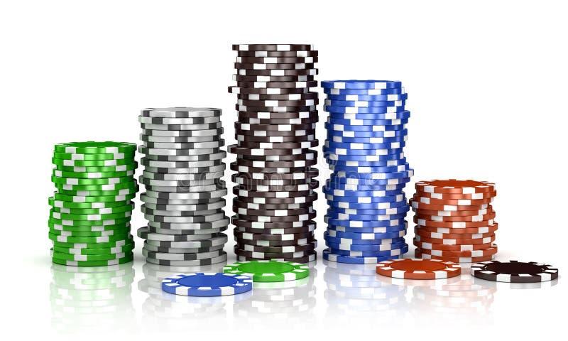 казино иллюстрация штока
