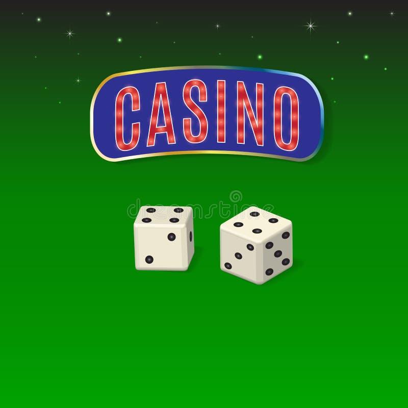казино иллюстрация вектора