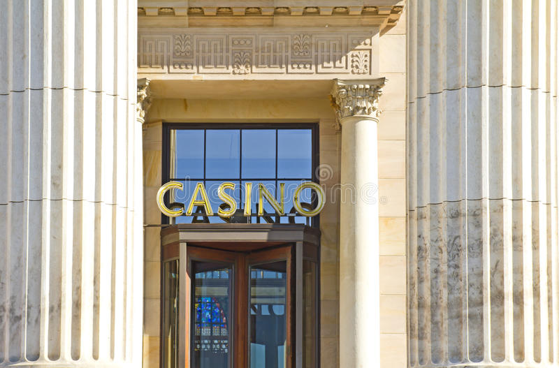 казино wiesbaden стоковое фото rf